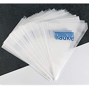 ilauke 100 Pack Thickened 15 inch Decorating Pastry Bags Disposable Icing Piping Bags for Cake Dessert Decoration
