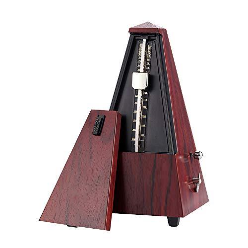 Bioaley Metrónomo mecánico guitarra, piano, violín, instrumento musical, máquina de ritmo universal