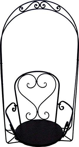 Hängesessel Hängestuhl Veranda-Schaukel Metall H 122 cm Hollywoodschaukel