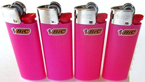 Bic Mini Hot Roze Aanstekers Veel van 4