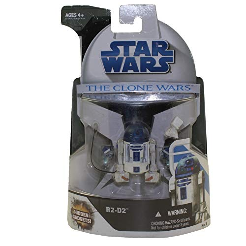 Hasbro R2-D2 with Hidden Gadgets CW No.8 Star Wars The Clone Wars Collection 2008
