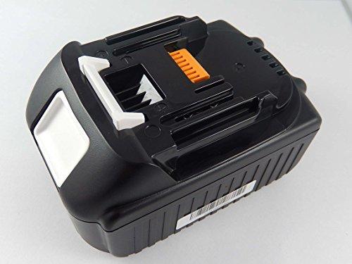 vhbw Batería compatible con Makita DHP482, DHP482RFX1, DHP483RFJ, DHP483RTJ, DHP483Z, DHP483ZJ; herramientas eléctricas (2000mAh, 18V, Li-Ion)