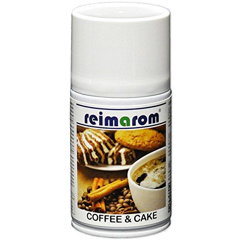 reimarom Raumspray Coffee and Cake aus natürlichen Lebensmittelaromen 250 ml mit Kaffee- und Kuchenduft für Duftspender
