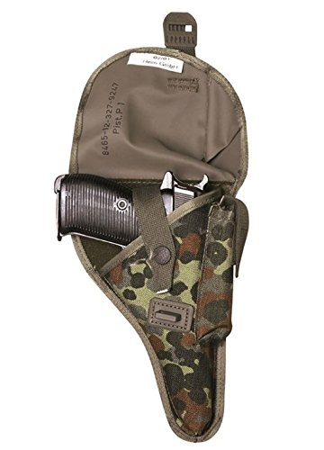Mil-Tec Pistol Case P1/P38 Flecktarn Holster - 16101021