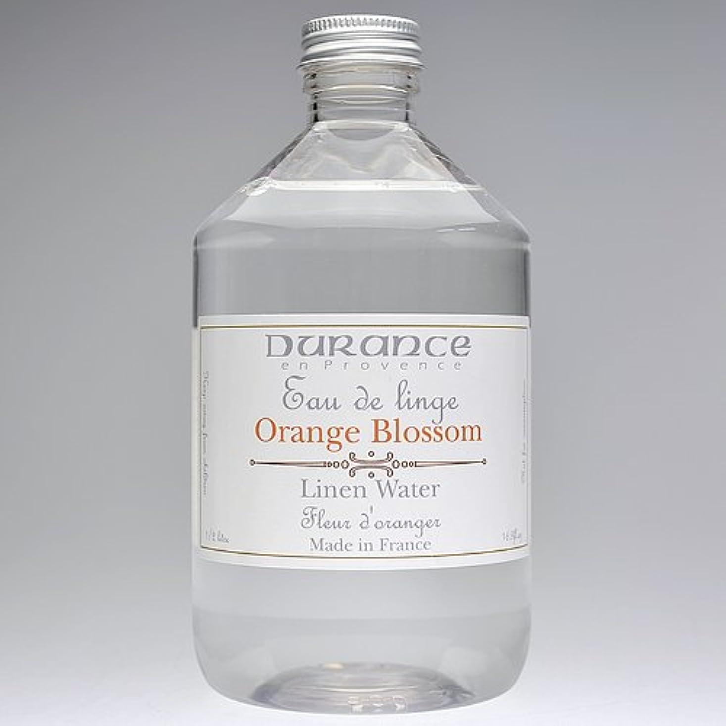 冷淡なファーム有益なDURANCE(デュランス) リネンケアシリーズ リネンウォーター 500ml 「フラワーオレンジ」 4994228008619