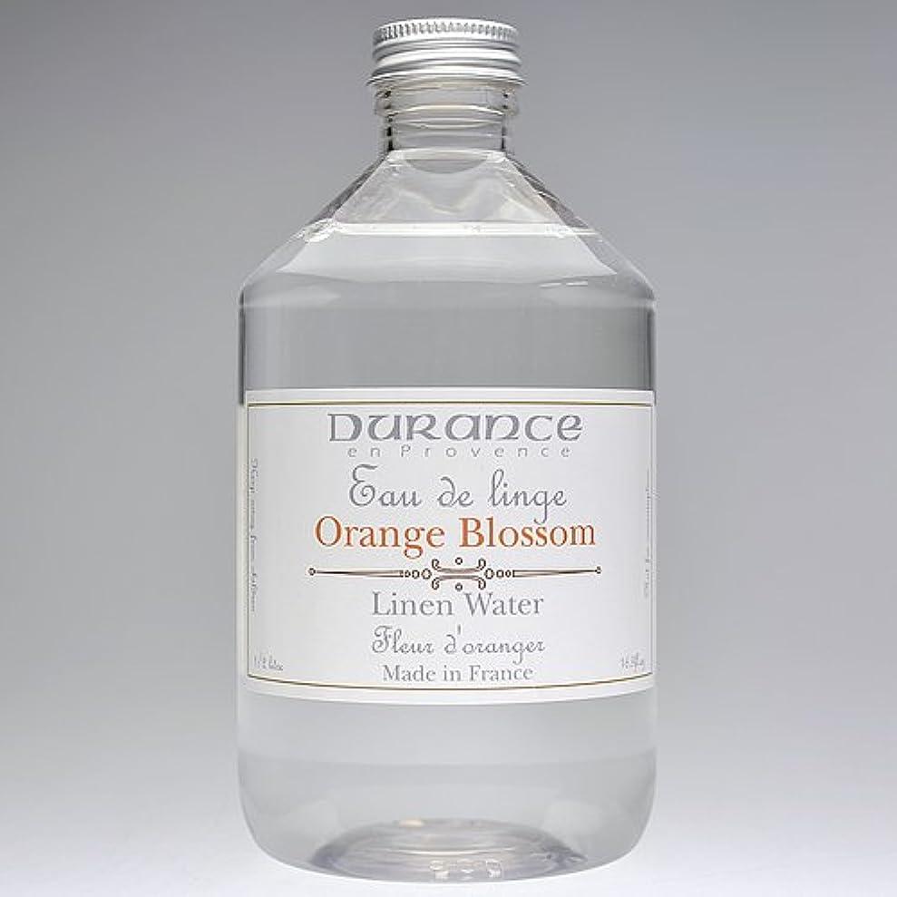 メーカー厚さ甥DURANCE(デュランス) リネンケアシリーズ リネンウォーター 500ml 「フラワーオレンジ」 4994228008619