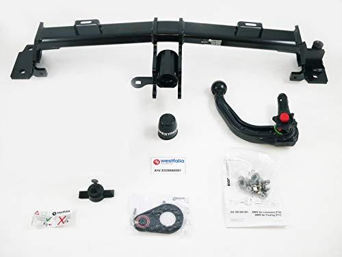 Abnehmbare Anhängerkupplung für BMW 5er Touring (F11) und Limousine (F10) (03/10-01/17)