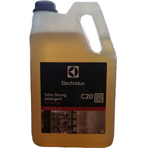 Fimel Detergente forni Confezione da 2 taniche da 5 Litri cad.Studiato da Electrolux per garantire Il miglior Risultato di pulizi