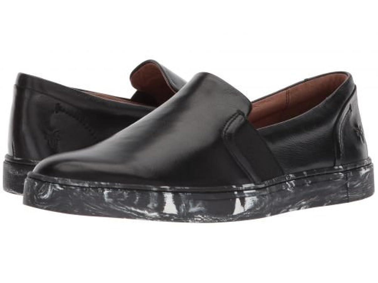 わなミュウミュウ切り刻むFrye(フライ) レディース 女性用 シューズ 靴 スニーカー 運動靴 Ivy Slip - Black Polished Soft Full Grain [並行輸入品]