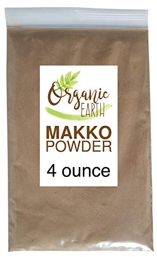 Organic Earth Makko Powder - High Grade Premium Incense for Making Cones and Coil Incense DIY Gift (4 Ounce)