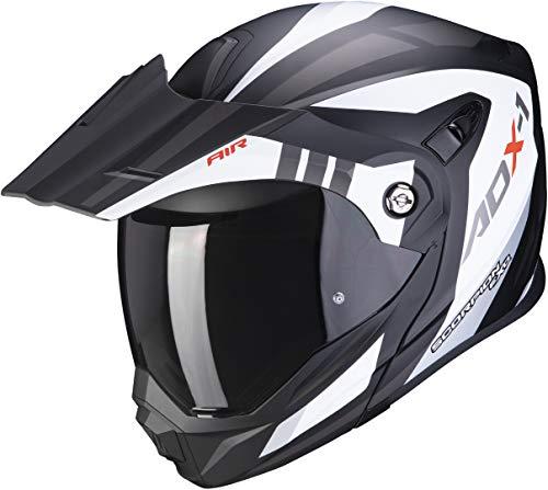 Scorpion Herren Adx-1 Lontano Helm, Schwarz, M 57 58 EU
