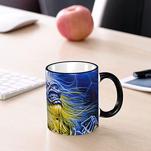 Iron Maiden Coffee Mug Comic Funny 330ml Ceramic Mug Christmas Birthday Fathers Day Gift