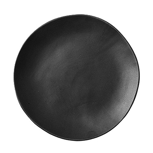 SOCOSY Creative Irregular Matte Ceramic Dinner Plate/Dessert Plate/Appetizer Plate/Salad Dish for Party Kitchen - 7 Inches