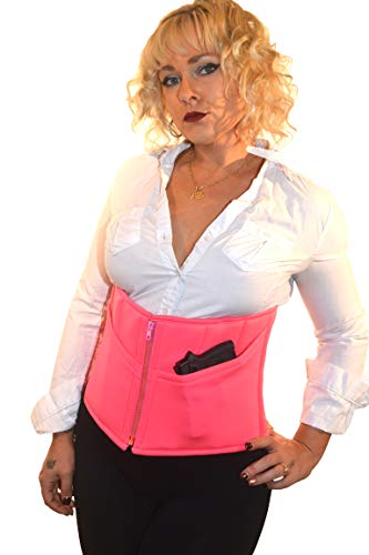 Eurotique Concealed Carry Neoprene Corset Pink (S)