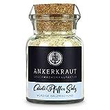 Ankerkraut Aioli-Pfeffer Salz, für Aioli-Butter, Finisher-Salz, 155g im Korkenglas