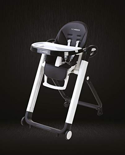 InnoGIO - Trona - Niños - Bebés - Funcional - Práctica - Regulable - Estable - Plegable - Con ruedas