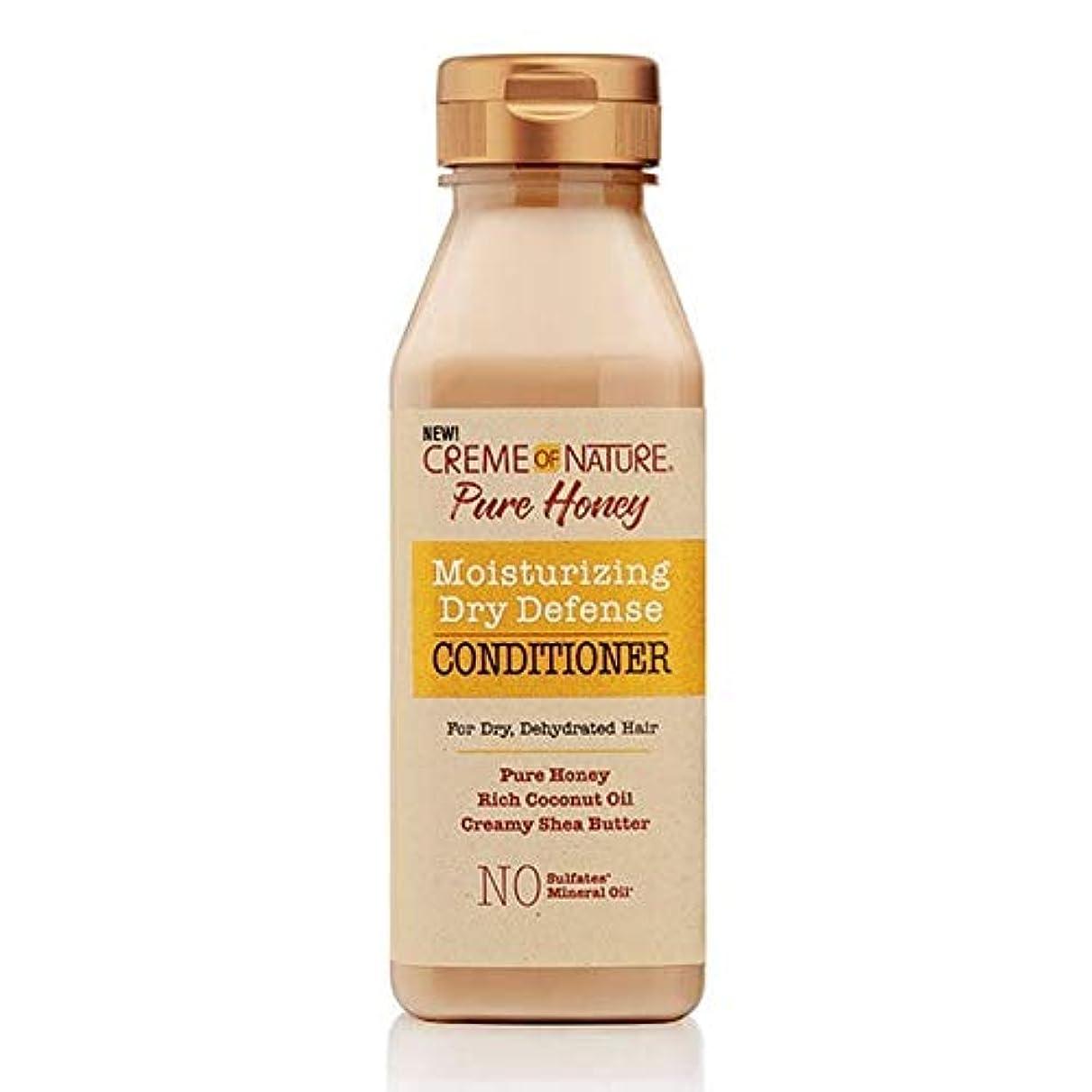 副詞器具無傷[Creme of Nature ] 自然の純粋蜂蜜ドライ防衛コンディショナー355ミリリットルのクリーム - Creme of Nature Pure Honey Dry Defence Conditioner 355ml [並行輸入品]