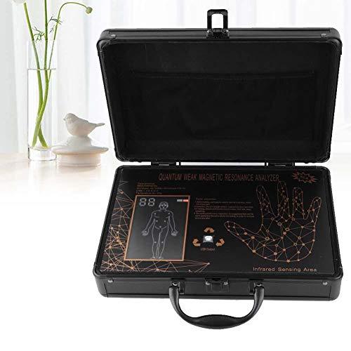 Quantum Analyzer, tragbarer Quantum Magnetic Resonance Healthy Analyzer Körperdetektor, mehrsprachige Software