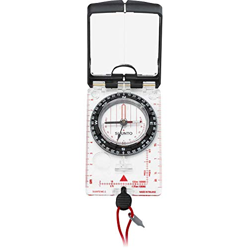 Suunto MC2 Navigator Mirror Sighting Compass with Built-in Clinometer, Quadrant