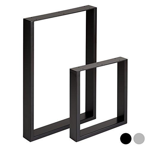 Hartleys Quadrat-Tischbeine im Bauhaus-Stil – Verschiedene Größen & Farben