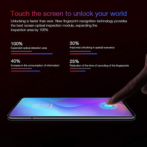 Xiaomi Mi 9T Smartphone, 6 GB + 128 GB Pantalla AMOLED Full-Screen de 6.39, Selfie Pop-up, Triple Cámara de 13 + 48 + 8 MP, con NFC, 4000 mAh, Qualcomm 730, Color Negro (Otra version Europea)