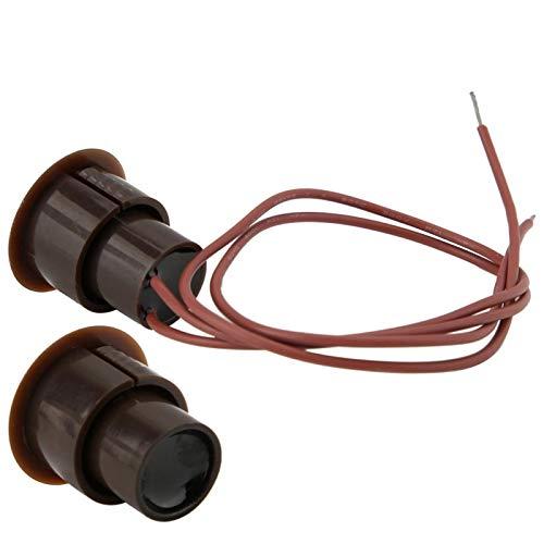 ABS portátil ignífugo del Sensor del Contacto de la Ventana de la Puerta de la Vivienda para el hogar para la Oficina para la fábrica
