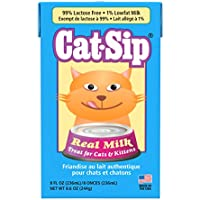 Cat Sip Real Milk Treat For Cats And Kittens, 8 Oz