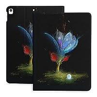 SORA ブラックロータスリミテッド iPad Pro 11 2021 ケース iPad Pro 11 第3世代 カバー オートスリープ機能 全面保護 PUレーザー スタンド マグネット 耐衝撃 手帳型