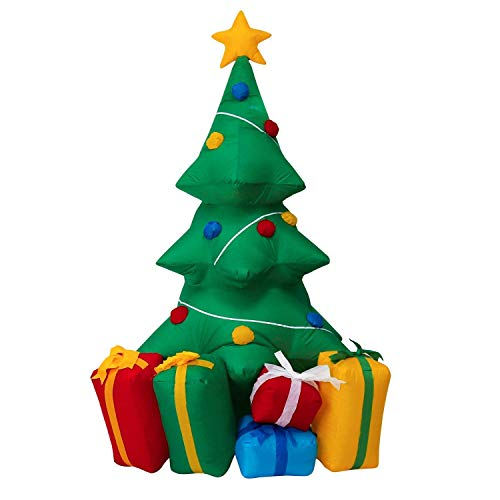 inflatable christmas tree with presents - Blow Up Christmas Tree