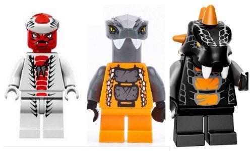 LEGO® Ninjago - Snappa Bytar and Chokun - Serpentine Armée 2