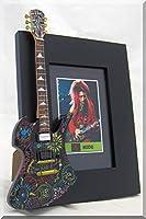 X-JAPAN HIDE 隠すミニチュアギターの写真フレーム Fernandes 新しい