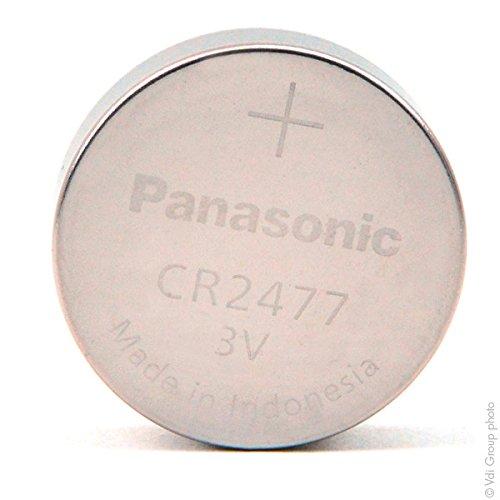 Panasonic - Knopfzelle Lithium CR2477 PANASONIC 3V 1Ah - Batterie(n)