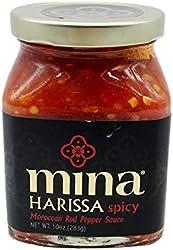 Mina Sauce Harissa Spicy, 10 oz