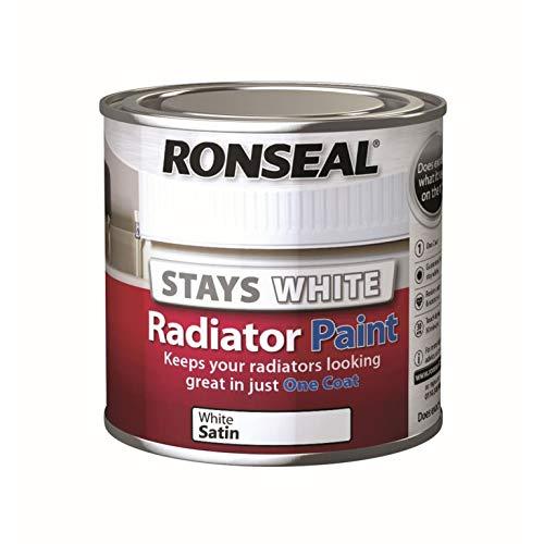 Ronseal One Coat Radiator Paint Satin 250ml