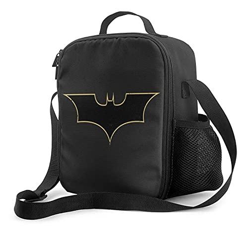 KEROTA Why So Serious Joker Batman Sac à déjeuner isotherme avec poche de glace pour adultes/hommes/femmes/enfants, étanche, étanche, souple, glacière isotherme Bento Box pour travail/école