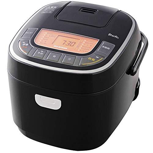 アイリスオーヤマ 炊飯器 5.5合 マイコン式 31銘柄炊き分け機能 極厚火釜 玄米 ブラック RC-MC50-B