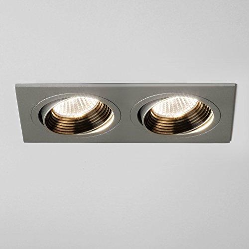 Astro Lighting - Spot encastrable double orientable Aprilia LED 12V - Aluminium