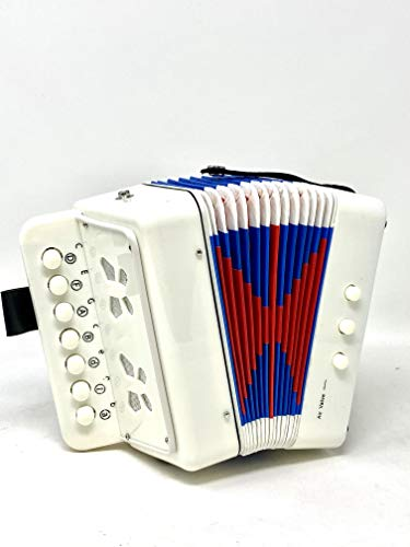 Check Out This JOYSAE 7 Keys 2 Bass Accordion Kids Accordion Toy Solo Ensemble Instrument Musical Ed...