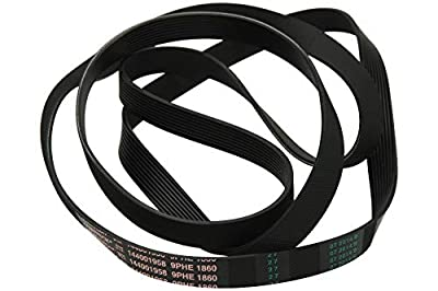 Replacement Belt For CREDA HOTPOINT & ARISTON Tumble Dryer BELT. 1860-H9. Fits Models Hotpoint: VTD00G VTD00P VTD00T VTD20G VTD20P VTD20T VTD60G VTD60P VTD60T VTD65A - INDESIT - IS60V IS60VEX IS60VEXPAI IS60VFR IS60VNL IS60VS IS60VSK IS60
