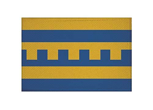 U24 Patch Harderwijk (Nederland) vlag opstrijkbaar patch 9 x 6 cm