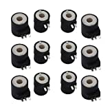 6 Pack of 279834 Dryer Gas Valve Ignition Solenoid Coil Kit Compatible with Kenmore Whirlpool Dryers Replacement Part by AMI - Replace PS334310 694540 AP3094251