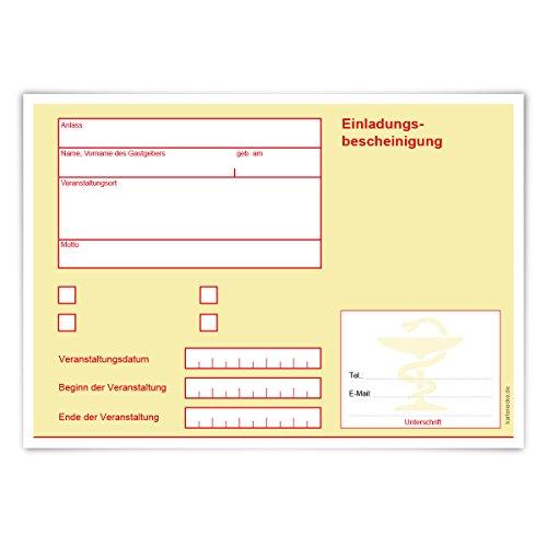 Einladungskarten Erwachsene jeder Anlass Geburtstag 12 Stück Karten - Krankschreibung