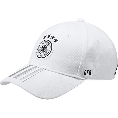 adidas Herren Kappe DFB, White/Lgsogr/Black, OSFM, FJ0826