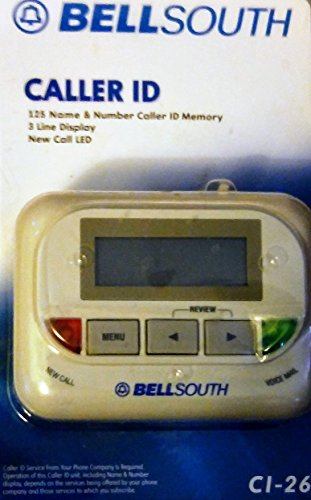 Bellsouth Called Id Ci-26
