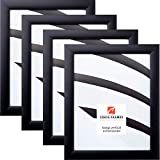Craig Frames 1WB3BK 20 x 27 Inch Picture Frame, Black, Set of 4
