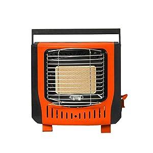 Easy-topbuy Portátil Estufa de Calefacción Cómodo Compacto - Encendido Electrónico Piezoeléctrico Gas Butano Metano 1200W Adecuado para Calefacción al Aire Libre en Invierno