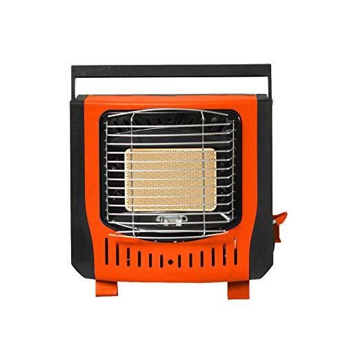 QUUY draagbare gasradiator - gaskachel binnen en buiten, gaskachel, voor thuis, voor kamperen, vissen, tent car heating stove, 30 x 12 x 26 cm uitstekend