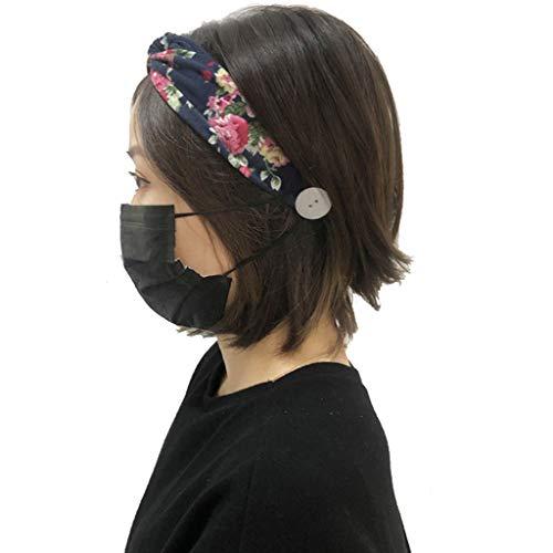 Bouton Headband Femme Bandeau Cheveux Homme Bandeau Fluo Headband Cheveux Femme Headband Sport Headband Fleur