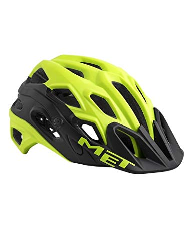 MET Lupo - Casco de Bicicleta - Amarillo/Negro Contorno de la Cabeza M | 54-58cm 2018
