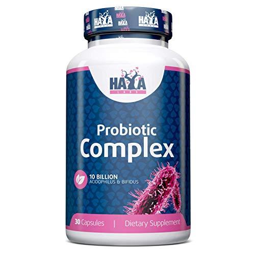 Haya Labs 10 Billion Acidophilus and Bifidus Probiotic Complex 30Capsules